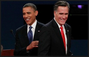 Obama vs Romney US Elections 2012 photo